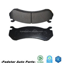 Car spare part disc brake pads with repair kits india market requirement best price