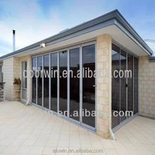 Cheap price and good quality Double Glazing Aluminium Bifold Doors