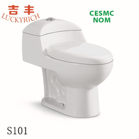 S101 Promotional Sanitary ware -bathroom ceramic one piece toilet bowl prices alibaba china supplier
