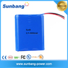Good quality 3.7v 1s3p 18650 li-ion battery pack 6000mah for Medical/lighting/household devices
