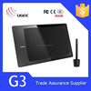 Trade assurance supplier Ugee G3 9x6 inches 2048 levels 5080lpi pen input tablet