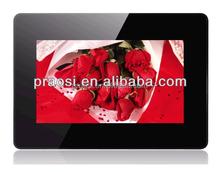 human sensor digital photo frame 7 inch auto play video when some person near