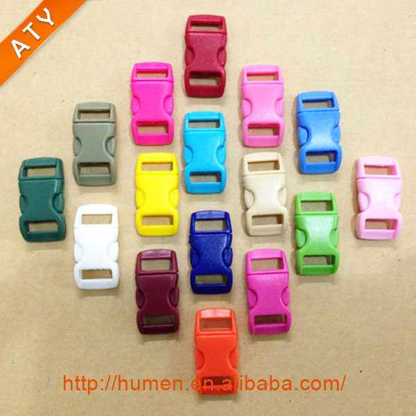 "3/8"" quick release plastic buckles for backpack and belts"