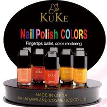 Producto verde agrietada esmalte de uñas / uña laca oro capa base