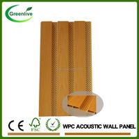 Wood Plastic Composite WPC Interior Acoustic Wall Panel