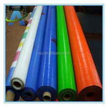 100% virgin material pe tarpaulin/clear poly sheeting/transparent pe tarpaulin