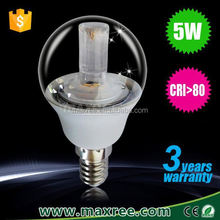 China supplier hot-sell china led bulb 5w glass,bulb led e14