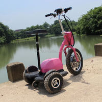 New Arrival 3 wheeler electric powered four seaters electric fleet golf cart with front led light