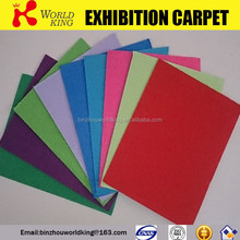 Non woven indoor or outdoor plain carpet