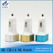 China oem manufacturer usb car charger 2 port