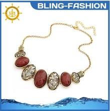 2015 Fashion rhinestone collar choker necklace