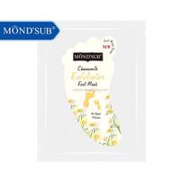 Chamomile Hard Skin Peeling and Softening and Nourishing MONDSUB Foot Mask
