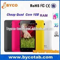 Cheap wholesale Quad core 3G 900/1900mhz Android celular / telefonos celulares / telefonos moviles