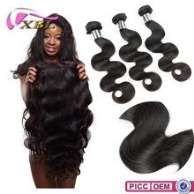 Pure Hair Extension Grade 7A Natural Malaysian Hair Head Piece