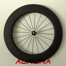 88C 23mm completa carbono para bicicleta de carretera,Luz de la bicicleta,rueda del carbón del OEM