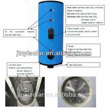 solo 250l solar de la bobina del tanque de agua con la certificación ce