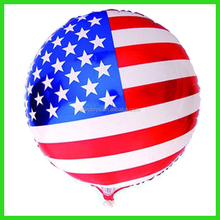 Custom America national flag balloon decoration