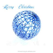 Plastic Mirror Decorative Christmas Ball Ornament Popular