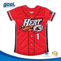 Wholesale cheap custom youth baseball wear team usa softball jerseys