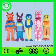 HI CE people backyardigans cartnoon mascot cosume for sale
