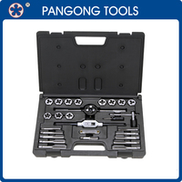 27 pc Hand Thread Cutting Tool Set with Hexagon Dies China Supplier