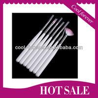 Professional 7pcs nail art brush pure color names
