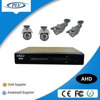 best selling 4ch 1.0MP AHD Camera and DVR Kit