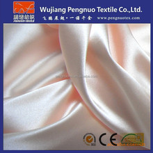 polyester satin fabric for wedding draping fabric and evening gown fabric