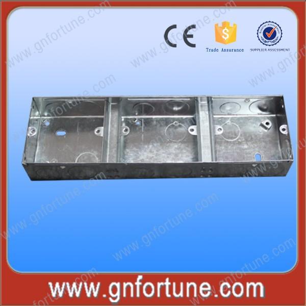 Caliente de la venta 3 x 6 eléctrico de Metal interruptor de cajas