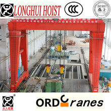 MGE type 320T electric traveling hoist double beam portal crane
