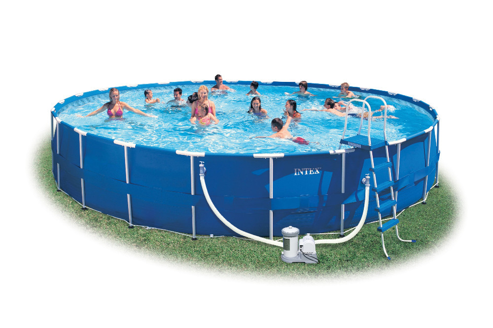 2015 outdoor above ground swimming pool intex ultra for Purchase above ground swimming pool