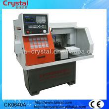 de metal del cnc 3 quijada chuck torno máquina CK0640A para la venta
