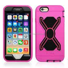 Dirtproof Powerful PC Silicone Defender Case for iPhone 6/ 6s/ 6 Plus/6s plus