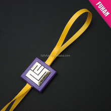 Professional design wholesale nylon rope plastic seal tag for clothing,clothing tag
