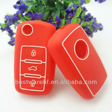 Fahion silicone Ford/Buick/Mazda/Toyota/NISSAN car key case Silicone car key cover