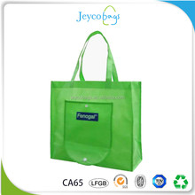 JEYCO BAGS Professional factory customize classic design cheapest non woven foldable shopping bag printed with logo