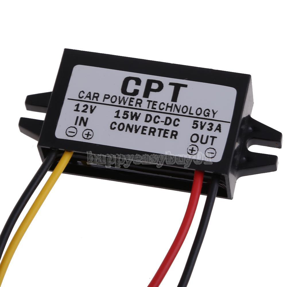 Dc To Converter Regulator 12v 5v 3a 15w Car Led Display Power More Circuits Supply H1e1
