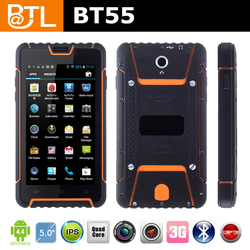 Designed Cruiser BT55 shockproof 4 star and up rated waterproof mobile phones outdoor wireless charging