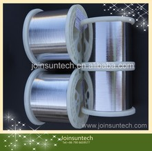 2015 hottest selling low yield strength PV ribbon with spool packing for solar cell soldering made in china