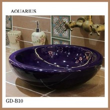 2015 new product ware enamel vanity wash basin