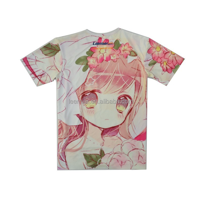 kids sublimation full printing custom t shirts no minimum