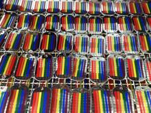 Lesbian Gay Pride Equality Rainbow LGBT Pendant Necklace Dog Tag