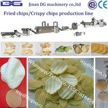 Dorito crispy chips/Potato chips production line from Jinan DG machinery company