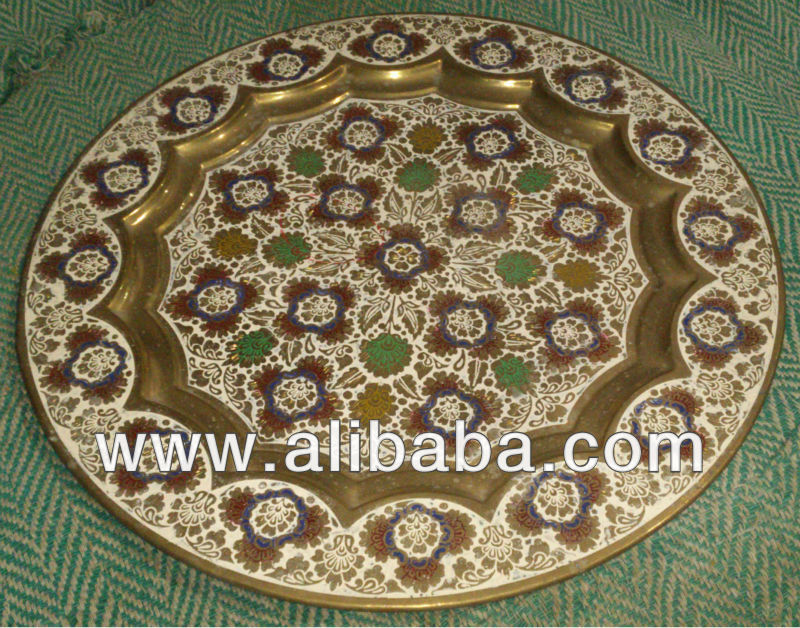 Wall decorative metal plate buy decorative plates for for Plaque metal deco pour mur