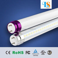 110 total system lumens per watt led t8 tube light bulb 10w TUV/SAA listed tube light for open or enclosed fixtures