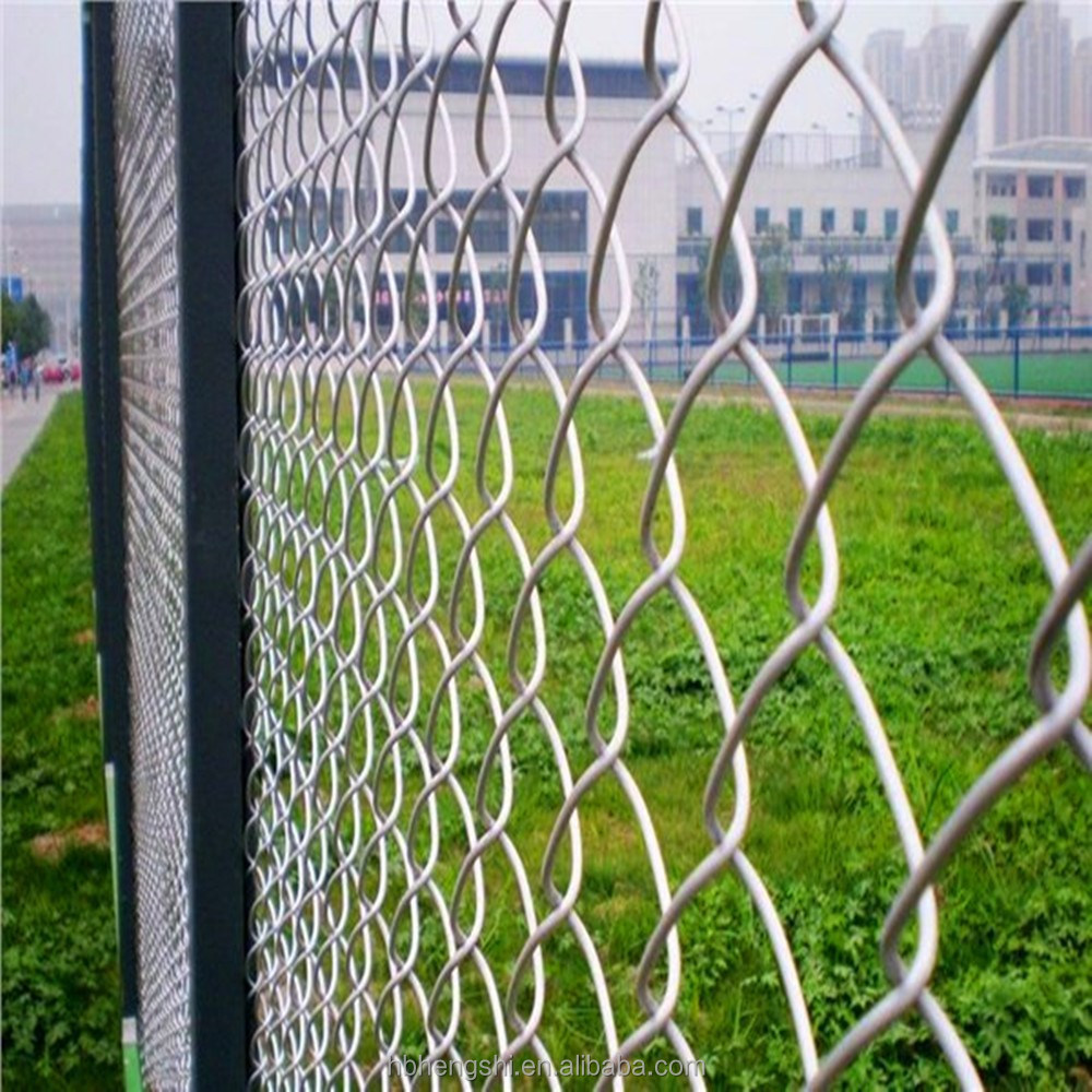 Fence Supplies Black Chain Link Fence Supplies