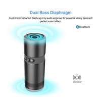 Dual Bass Diaphragm speaker music mini bluetooth speaker dual stereo speakers mobile