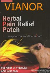 pain killer back muscle 7*10 cm pain relief patch