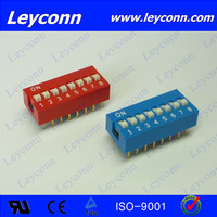 Pitch 2.54mm Slide Type DIP Switch factory with free sample
