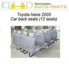 new toyota hiace car back 12 seats